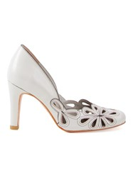 Sarah Chofakian High Heel Pumps Nude And Neutrals