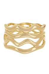 Ariella Collection Open Band Ring
