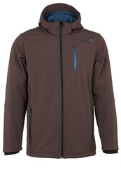 Cmp Soft Shell Jacket Chocolate Brown