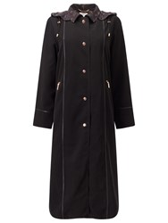 Jacques Vert Classic Long Length Mac Black