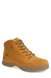 Men's Helly Hansen 'Berthed 3' Waterproof Leather Boot New Wheat Feather Grey Gum