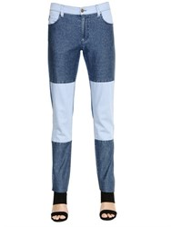 Sansovino 6 Patchwork Cotton Denim Jeans