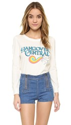 Wildfox Couture Hangover Roadtrip Jersey Pearl