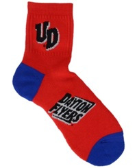 For Bare Feet Dayton Flyers Ankle Tc 501 Socks Red Blue