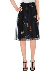 Attic And Barn Attic And Barn Skirts Knee Length Skirts Women Black