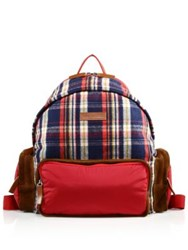 Dsquared Checked Backpack