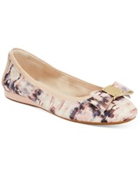 Cole Haan Tali Bow Ballet Flats Women's Shoes Pink Cameo