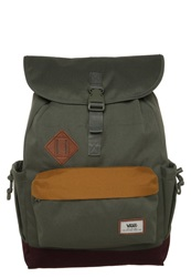 Vans Coyote Hills Rucksack Anchorage Colorblock Oliv