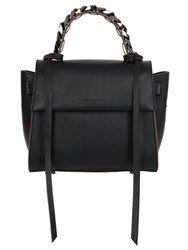 Elena Ghisellini Small Angel Chain Leather Bag