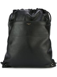 Givenchy 'Paris' Drawstring Backpack Black