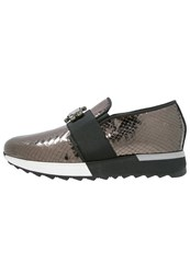 Jeannot Slipons Canna Di Fucile Dark Grey