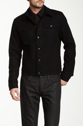 Joe's Jeans Revival Wool Blend Jacket Black