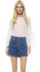 Rodebjer Cami Airy Blouse White