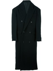 Juun.J Oversized Coat Black