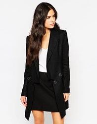 Traffic People Top And Tails Coat Black