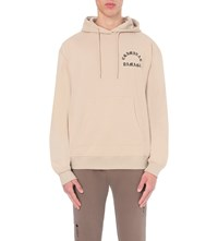 Criminal Damage Born Cotton Jersey Hoody Light Nude