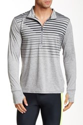 Brooks Dash 1 2 Zip Jacket Gray