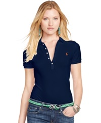 Polo Ralph Lauren Slim Fit Polo Shirt Cruise Navy