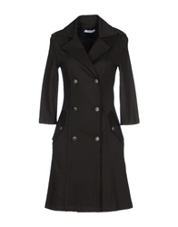 Phoebe Couture Phoebe Full Length Jackets Dark Green