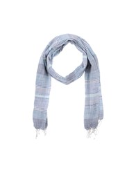 Replay Accessories Oblong Scarves Men Blue