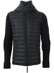 Duvetica Hooded Padded Jacket Black