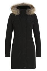 Parajumpers Down Parka With Fur Trimmed Hood Gr. S