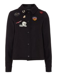Gloverall Badged Team Jacket Navy