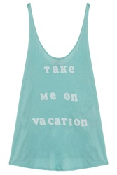 Wildfox Couture Take Me On Vacation Tank