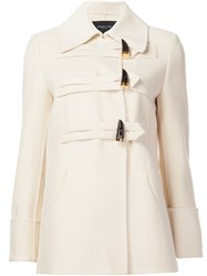 Derek Lam Toggle Fastening Short Coat White