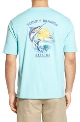 Men's Big And Tall Tommy Bahama 'Offline' Graphic Crewneck T Shirt