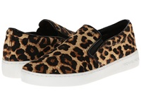 Michael Michael Kors Keaton Slip On Natural Cheetah Haircalf Printed Python Patent Pu Women's Shoes Animal Print
