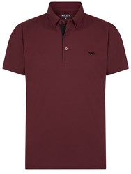 Wolsey Self Collar Pique Polo Red
