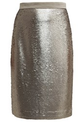 Banana Republic Pencil Skirt Silver Lake