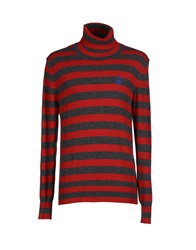Love Moschino Turtlenecks Red