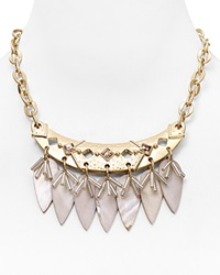 Dylan Gray Mother Of Pearl Statement Necklace 17 Bloomingdale's Exclusive