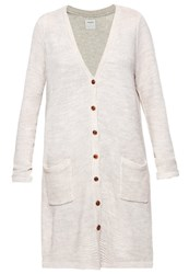 Vero Moda Vmjoya Cardigan Moonbeam Melange Light Grey