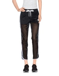 Dirk Bikkembergs Sport Couture Trousers 3 4 Length Trousers Women Black