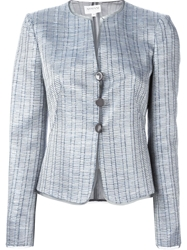 Armani Collezioni Metallic Sheen Fitted Jacket