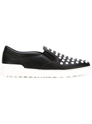 Valentino Garavani 'Rockrunner' Slip On Sneakers Black
