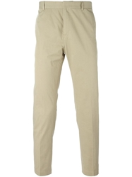 Mauro Grifoni Cropped Chinos