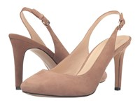 Nine West Holiday Natural Suede Women's Shoes Tan