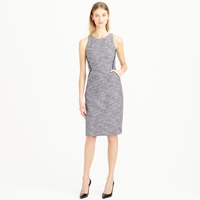 J.Crew Shimmer Tweed Sleeveless Dress