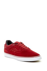 Emerica The Reynolds Low Vulc Sneaker Red