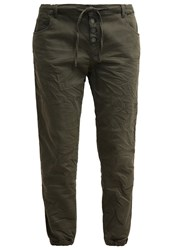 Mavi Jeans Shyla Trousers Military Twill Oliv