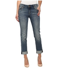 Kut From The Kloth Catherine Boyfriend In Authenticity Authenticity Women's Jeans Blue