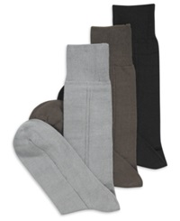 Perry Ellis Men's Socks Triple S Sock Multipack Parchment