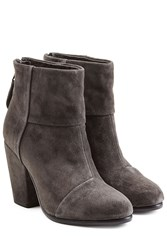 Rag And Bone Classic Newbury Suede Ankle Boots Grey