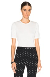 Toteme Stockholm Cashmere Blend Tee In White