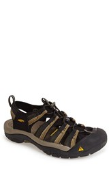Men's Keen 'Newport H2' Sandal Black Stone Grey