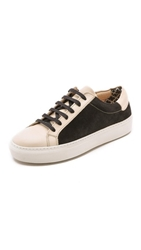By Malene Birger Ceall Lace Up Suede Sneakers Black